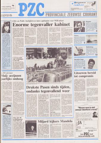 Provinciale Zeeuwse Courant 1990-04-17