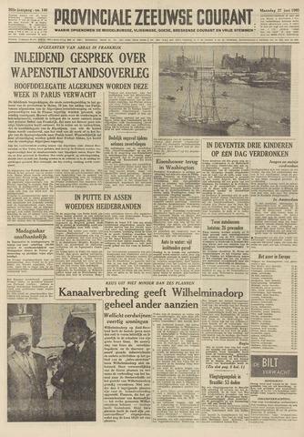 Provinciale Zeeuwse Courant 1960-06-27
