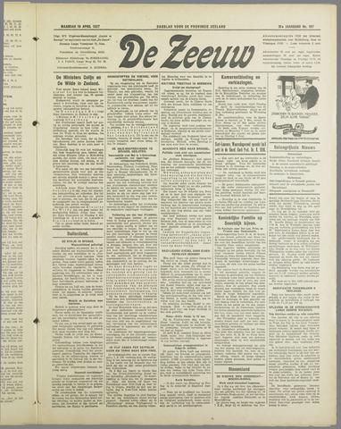 De Zeeuw. Christelijk-historisch nieuwsblad voor Zeeland 1937-04-19
