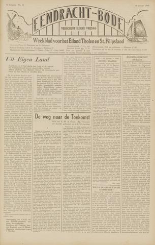 Eendrachtbode (1945-heden)/Mededeelingenblad voor het eiland Tholen (1944/45) 1949-01-28