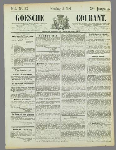 Goessche Courant 1891-05-05