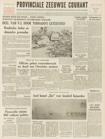 Provinciale Zeeuwse Courant 1965-04-13