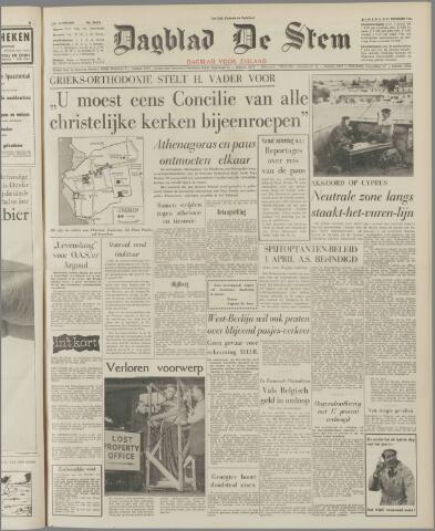 de Stem 1963-12-31