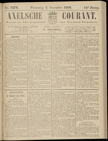 Axelsche Courant 1898-11-02