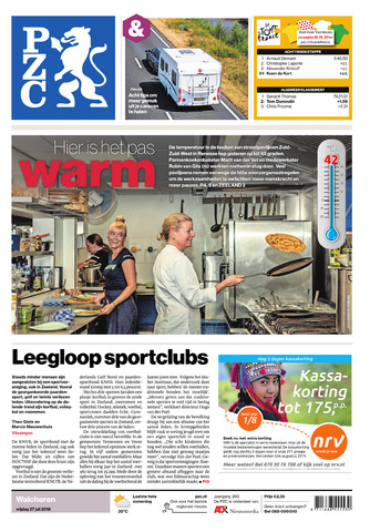 Provinciale Zeeuwse Courant 2018-07-27