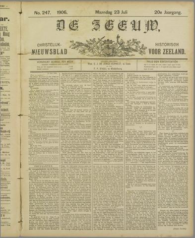 De Zeeuw. Christelijk-historisch nieuwsblad voor Zeeland 1906-07-23