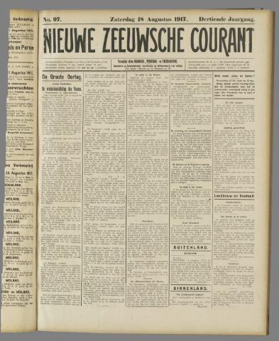 Nieuwe Zeeuwsche Courant 1917-08-18