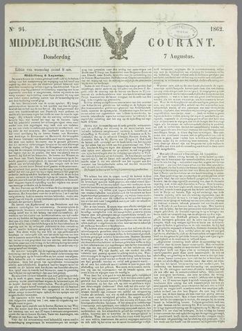 Middelburgsche Courant 1862-08-07