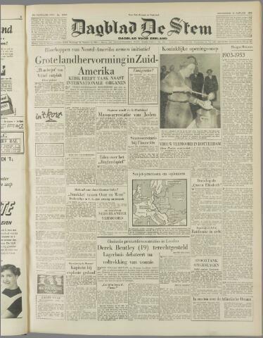de Stem 1953-01-29