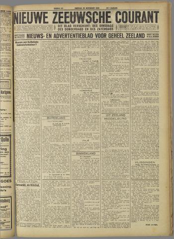 Nieuwe Zeeuwsche Courant 1923-11-20