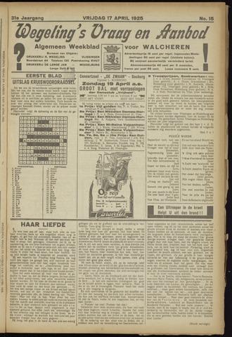 Zeeuwsch Nieuwsblad/Wegeling's Nieuwsblad 1925-04-17