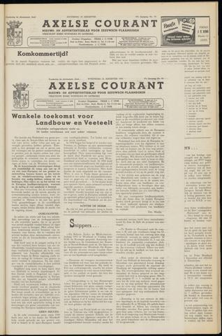Axelsche Courant 1953-08-26