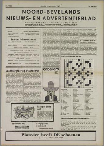 Noord-Bevelands Nieuws- en advertentieblad 1967-09-23