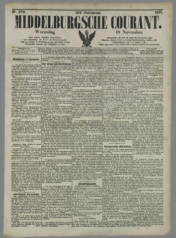 Middelburgsche Courant 1891-11-18