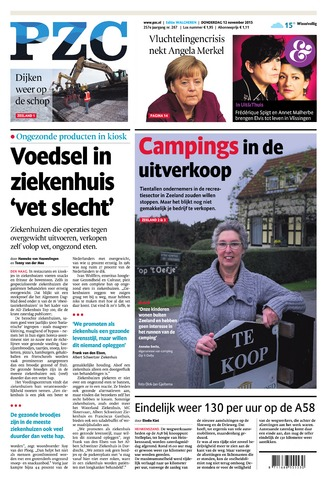 Provinciale Zeeuwse Courant 2015-11-12