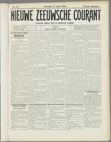 Nieuwe Zeeuwsche Courant 1906-04-21