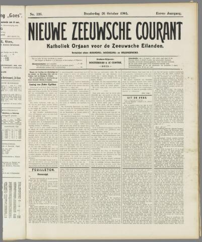 Nieuwe Zeeuwsche Courant 1905-10-26