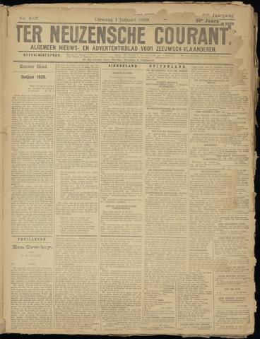 Ter Neuzensche Courant. Algemeen Nieuws- en Advertentieblad voor Zeeuwsch-Vlaanderen / Neuzensche Courant ... (idem) / (Algemeen) nieuws en advertentieblad voor Zeeuwsch-Vlaanderen 1929-01-01