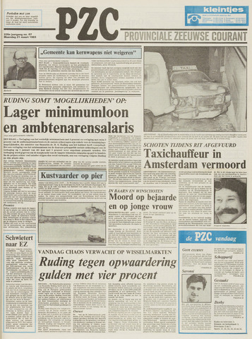 Provinciale Zeeuwse Courant 1983-03-21