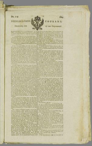 Middelburgsche Courant 1809-08-17