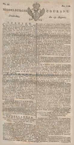 Middelburgsche Courant 1779-08-19