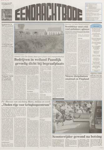 Eendrachtbode (1945-heden)/Mededeelingenblad voor het eiland Tholen (1944/45) 1999-06-03