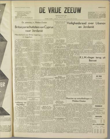de Vrije Zeeuw 1958-07-18