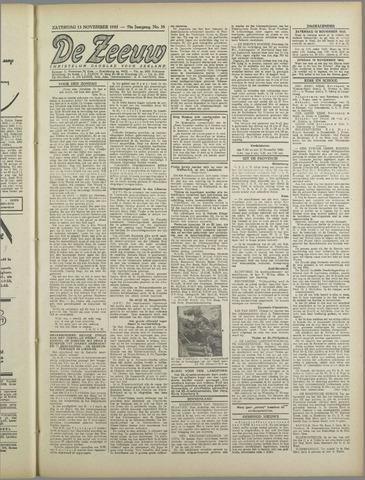 De Zeeuw. Christelijk-historisch nieuwsblad voor Zeeland 1943-11-13