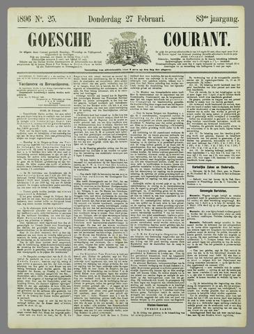 Goessche Courant 1896-02-27