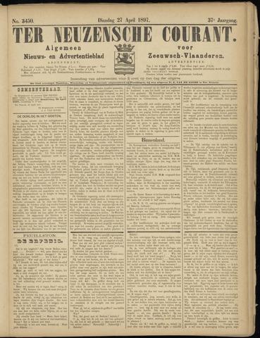 Ter Neuzensche Courant. Algemeen Nieuws- en Advertentieblad voor Zeeuwsch-Vlaanderen / Neuzensche Courant ... (idem) / (Algemeen) nieuws en advertentieblad voor Zeeuwsch-Vlaanderen 1897-04-27