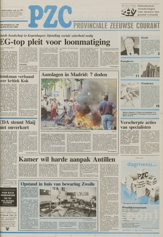 Provinciale Zeeuwse Courant 1993-06-22