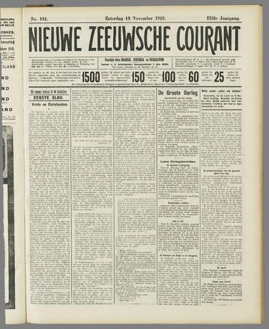 Nieuwe Zeeuwsche Courant 1915-11-13