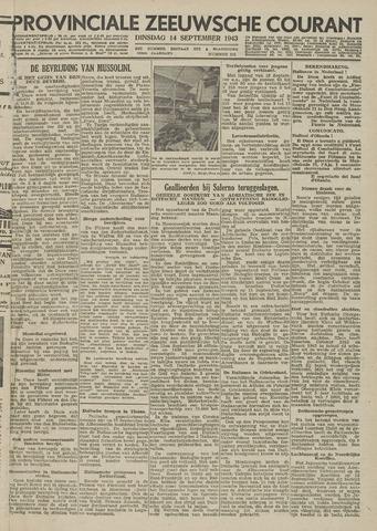 Provinciale Zeeuwse Courant 1943-09-14