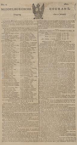 Middelburgsche Courant 1821