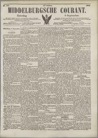 Middelburgsche Courant 1899-09-09