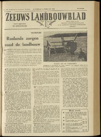 Zeeuwsch landbouwblad ... ZLM land- en tuinbouwblad 1960-02-06