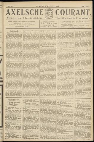 Axelsche Courant 1934-06-05