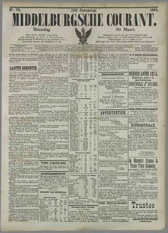 Middelburgsche Courant 1891-03-30