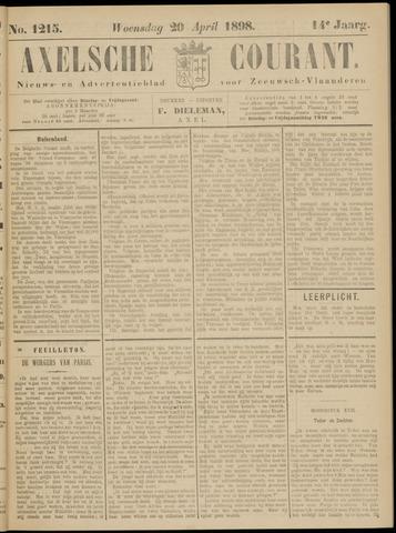Axelsche Courant 1898-04-20