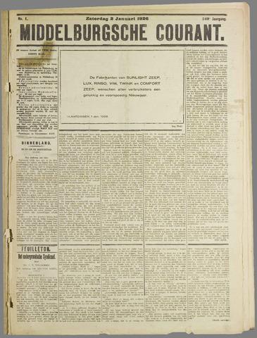 Middelburgsche Courant 1926
