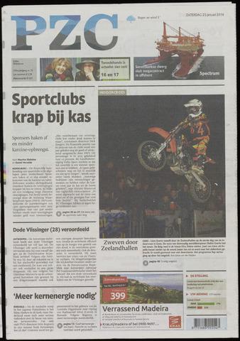 Provinciale Zeeuwse Courant 2014-01-25