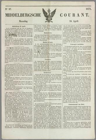 Middelburgsche Courant 1871-04-24