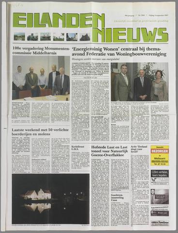 Eilanden-nieuws. Christelijk streekblad op gereformeerde grondslag 2007-09-14