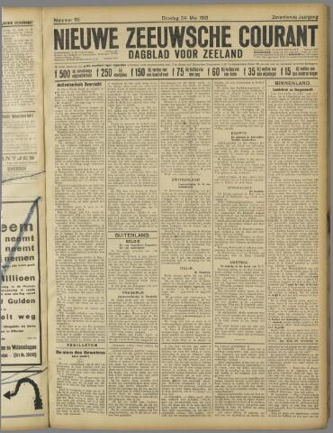 Nieuwe Zeeuwsche Courant 1921-05-24
