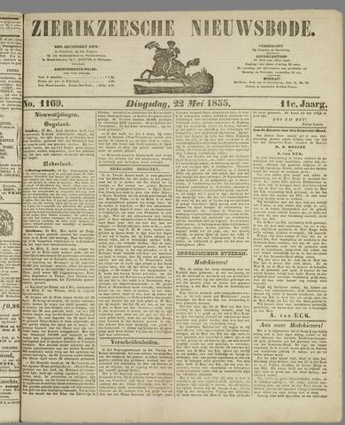 Zierikzeesche Nieuwsbode 1855-05-22
