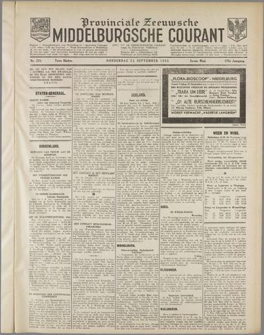 Middelburgsche Courant 1932-09-22