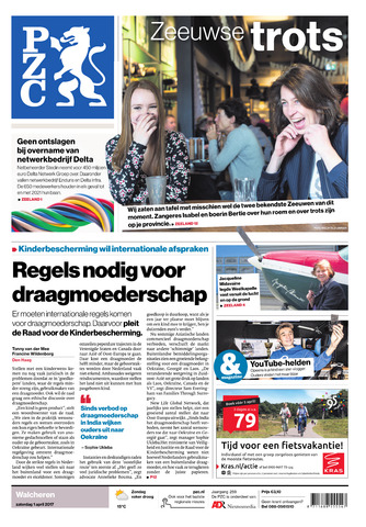 Provinciale Zeeuwse Courant 2017-04-01