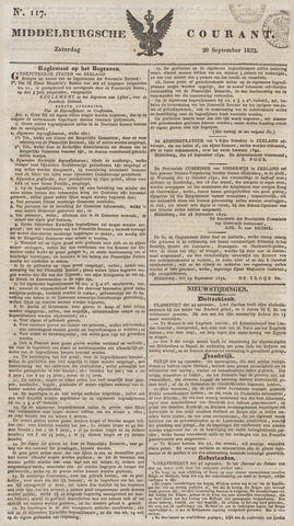 Middelburgsche Courant 1832-09-29