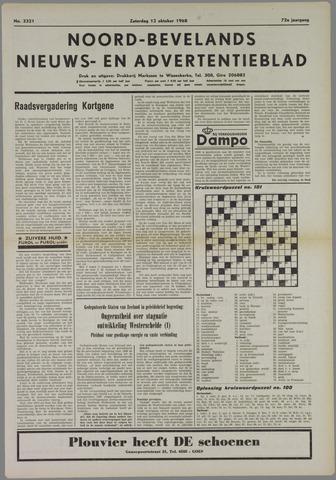 Noord-Bevelands Nieuws- en advertentieblad 1968-10-12