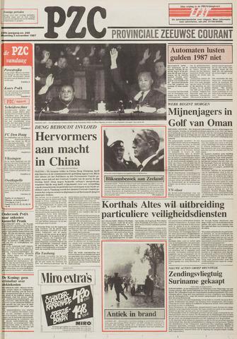 Provinciale Zeeuwse Courant 1987-11-02